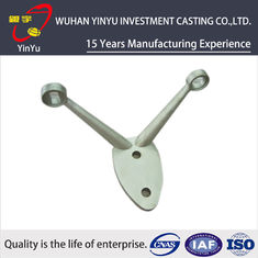 China C45 Steel Investment Casting Construction Machinery Parts High Precision supplier