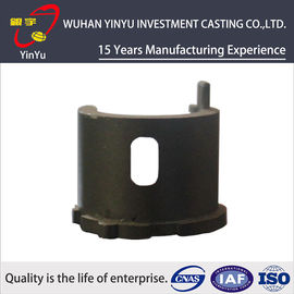 China Black SS Casting Small Metal Parts Industrial Components Different Surface Treatment supplier