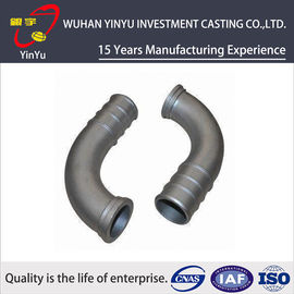 China Lost Wax Investment Casting Small Parts , Cast Pipe Fittings Low Tolerance supplier