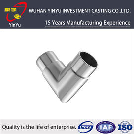 China High Precision Investment Casting Products Carbon Steel Pipe Fittings 1g-10kg supplier