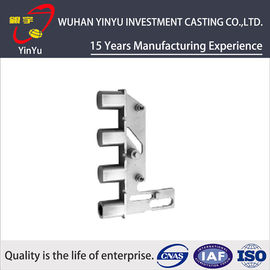China Customized Lock Spare Parts By Lost Wax Casting Services Antirust Oil Finish supplier