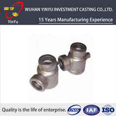 China Durable 316 / 304 Stainless Steel Pipe Fittings Lost Wax Investment Casting Process supplier