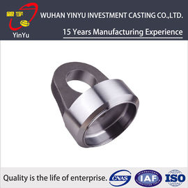 China Stainless Steel Investment Casting Pipe Fittings With CNC Machining And Polishing Process supplier