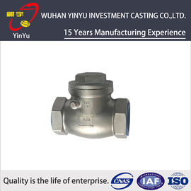 China Durable Valve Casting Parts Steel Precision Casting Process Annealling Heat Treatment distributor