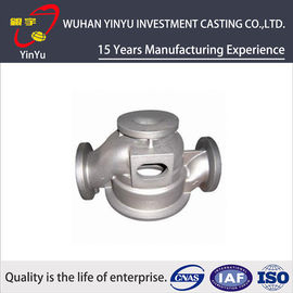 China SS 304 / SS 316 Water Valve Parts By Silica Sol Investment Casting Process distributor