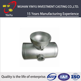China Stainless / Carbon / Alloy Steel Pipe Fittings Metal Casting Products Lightweight distributor