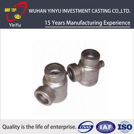 China Durable 316 / 304 Stainless Steel Pipe Fittings Lost Wax Investment Casting Process distributor