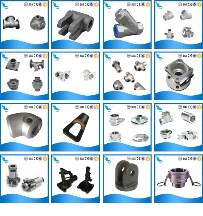 SS 316 & 304 Stainless Steel Lost Wax Investment Casting