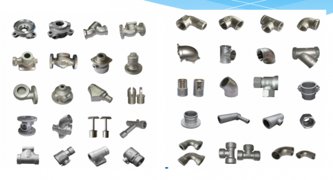 Durable Carbon Steel Precision Investment Castings With ISO9001 Certificated